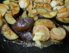 ホタテとナスのしょうが醤油炒め 調理⑤