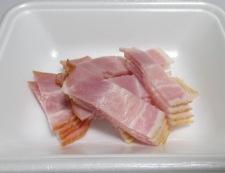 九条ねぎとベーコンの炒め物 【下準備】②