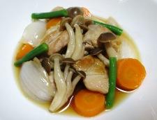 鶏もも肉と新玉ねぎの甘辛煮 調理⑥