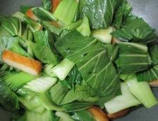 青梗菜さつま 調理②