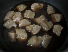 牛すじと新玉ねぎの煮物 調理④