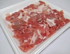 豚こまの花椒塩ダレ炒め 材料