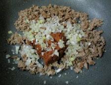 肉味噌きゅうり 調理④