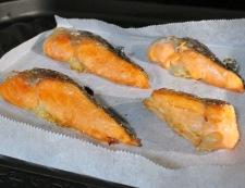 鮭マヨ 調理②