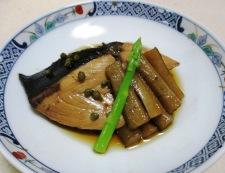 ブリごぼうの実山椒煮 調理⑥