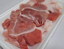 豚こま肉豆腐 材料①