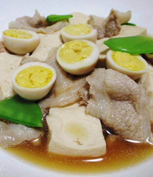 豚こま肉豆腐 B