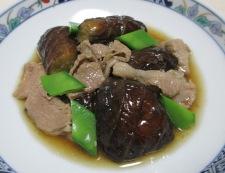 ナスと豚肉のしょうが煮 調理⑥