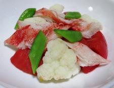 カリフラワートマト 調理③