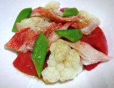 カリフラワートマト 調理④