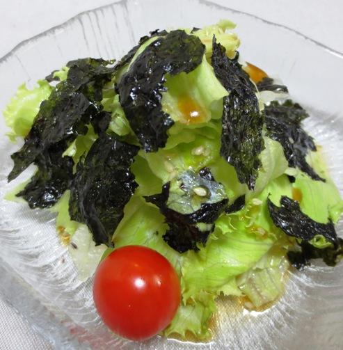 レタスと韓国海苔のサラダ B