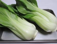 絹揚げと青梗菜のしょうが焼き 材料②