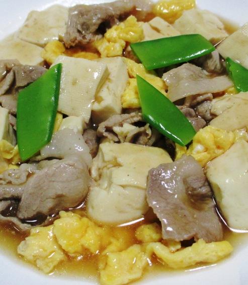 豚こまと豆腐の中華風煮込み 大