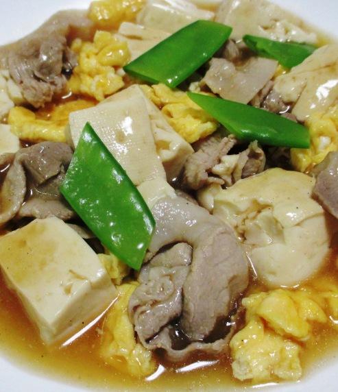 豚こまと豆腐の中華風煮込み B