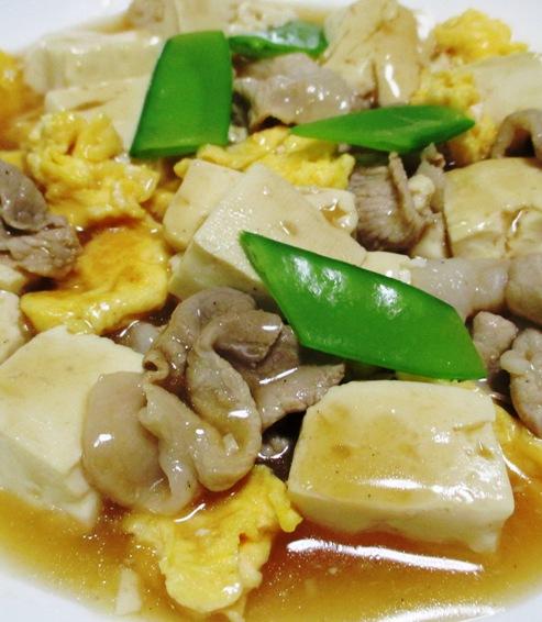 豚こまと豆腐の中華風煮込み 拡大