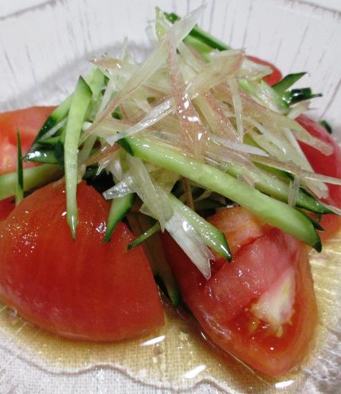 トマトみょうが B