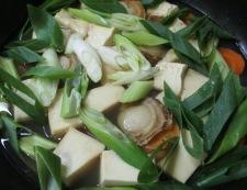 ホタテ豆腐 調理④