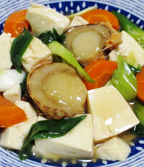 ホタテ豆腐 B