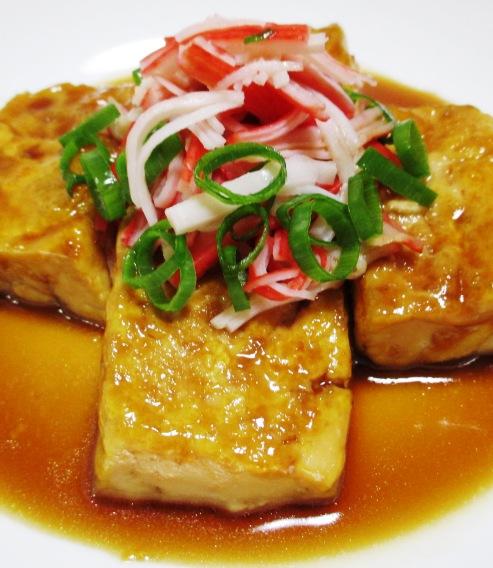 豆腐ステーキ 大
