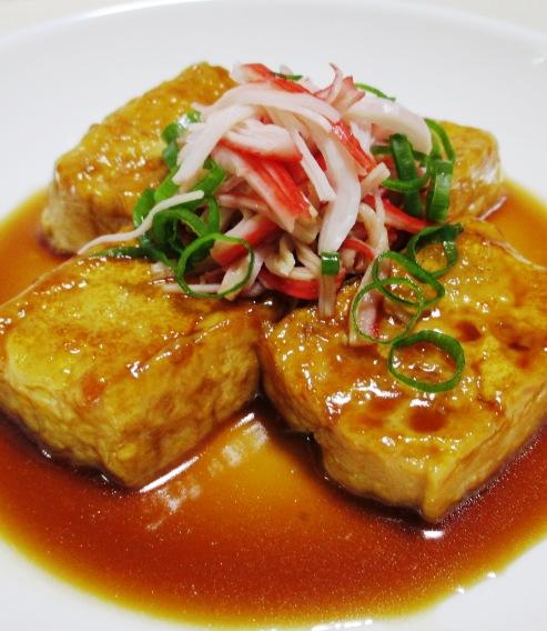 豆腐ステーキ 拡大