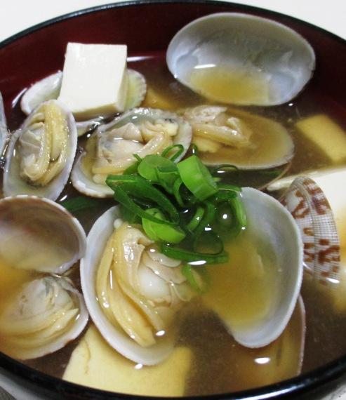 あさり豆腐の味噌汁 B