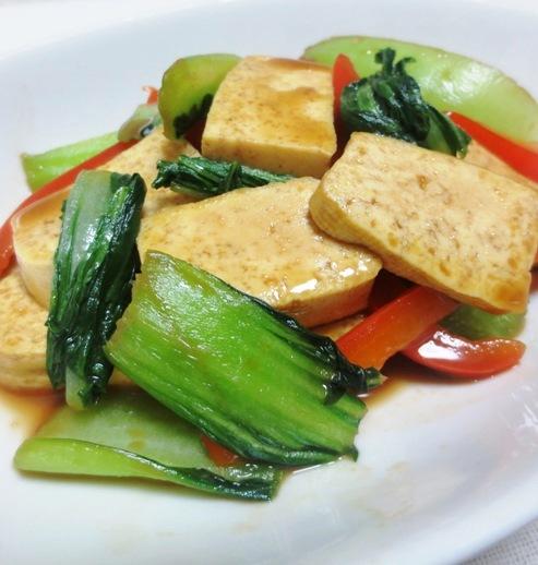 豆腐青梗菜 B