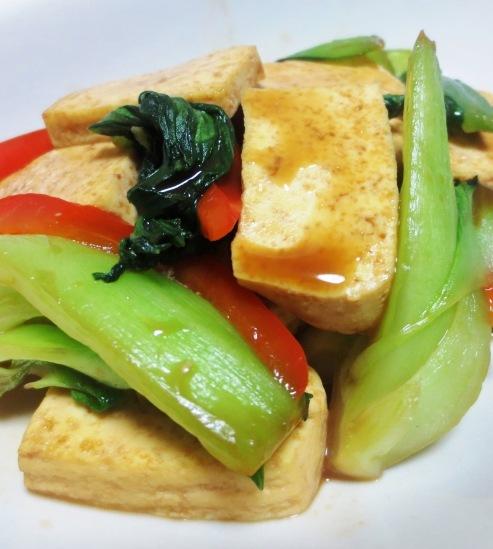 豆腐青梗菜 大