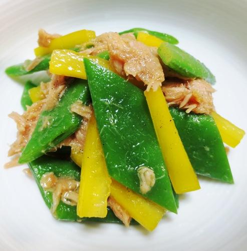 ツナとモロッコインゲンのサラダ B