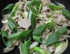 豚肉の黒胡椒しょうが焼き 調理④