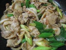 豚肉の黒胡椒しょうが焼き 調理⑥