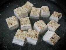 焼き鳥缶と焼き豆腐のうま塩親子煮 調理③