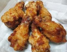 鶏手羽元の胡麻ラーユ唐揚げ 調理⑥