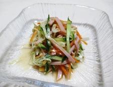 梅ポンコールスローサラダ 調理⑥