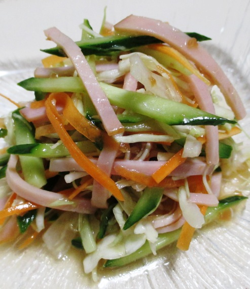 梅ポンコールスローサラダ B