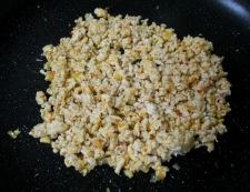 インゲンとしめじの鶏味噌炒め 調理②