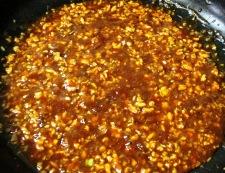 インゲンとしめじの鶏味噌炒め 調理④