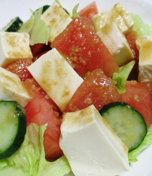 トマト豆腐 B