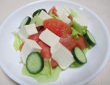 トマト豆腐 調理③