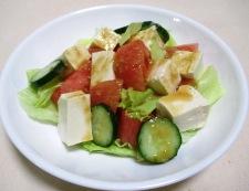 トマト豆腐 調理④