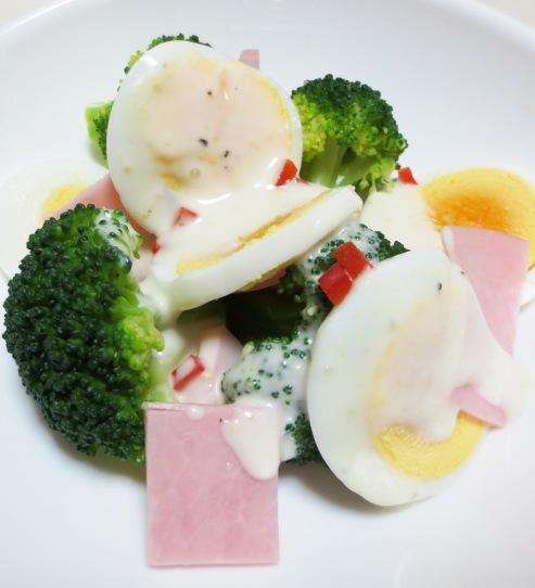 ゆで卵ブロッコリー B
