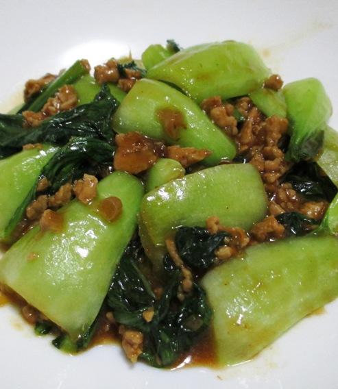 鶏味噌青梗菜 B