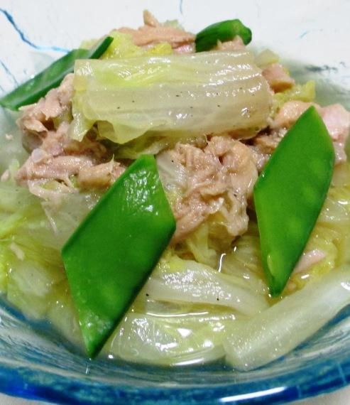 白菜とツナの煮物 B