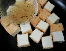 絹揚げのうま塩炒め 調理④