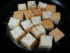 絹揚げのうま塩炒め 調理⑤