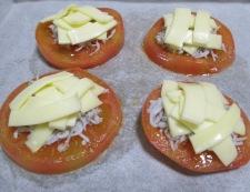 トマトとしらすのチーズ焼き 調理③
