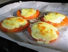 トマトとしらすのチーズ焼き 調理④