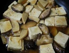 干し椎茸と豆腐のオイスターソース煮 調理⑥