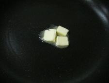 揚げとうもろこしのバター醤油 調理④
