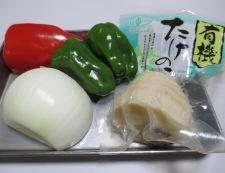 牛肉とピーマンの黒胡椒炒め 材料②