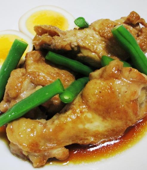 鶏手羽元のさっぱり煮 B